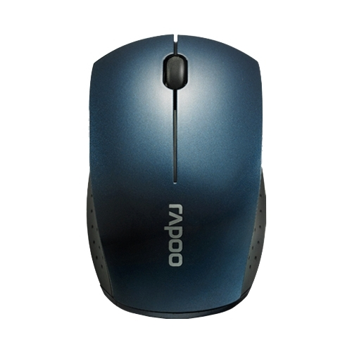 Мышь Rapoo Wireless Optical Mouse 3360 Blue USB