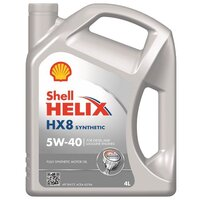 Моторное масло SHELL Helix HX8 Synthetic 5W40 4л
