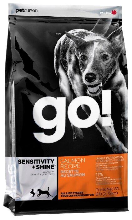Корм для собак GO! Sensitivity + Shine лосось 2.72 кг