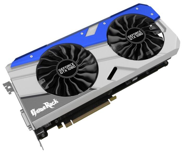 Palit Видеокарта Palit GeForce GTX 1080 1746MHz PCI-E 3.0 8192MB 10500MHz 256 bit DVI HDMI HDCP