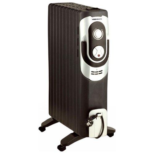 Конвектор VES electric RG 10 черный/белый