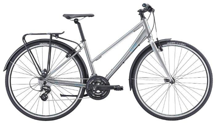 Женский велосипед Giant Alight 2 City (2016), Цвет Серый, Размер рамы 16