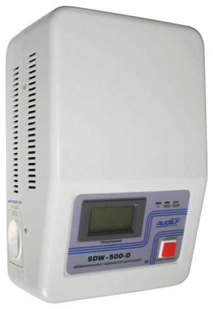 Стабилизатор напряжения однофазный RUCELF SDW-500-D (0.4 кВт)