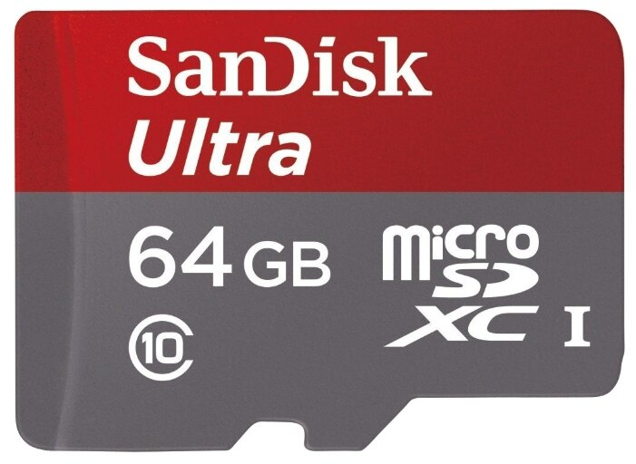 SanDisk Ultra microSDXC Class 10 UHS-I 48MB/s + SD adapter