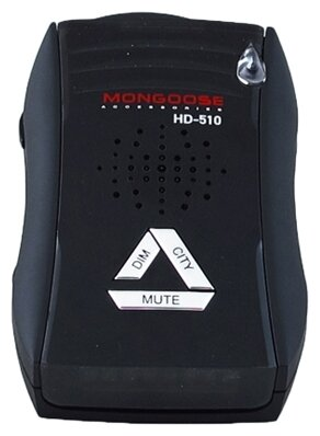 Радар-детектор Mongoose HD-510