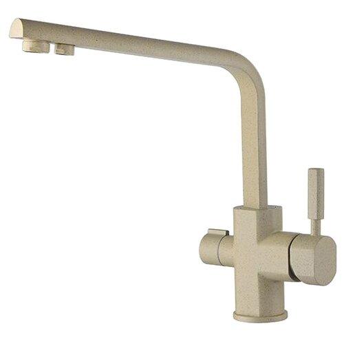 Смеситель для кухни (мойки) KAISER Decor 40144 granit однорычажный ora смеситель для кухни с подключением к фильтру kaiser decor 40144 5