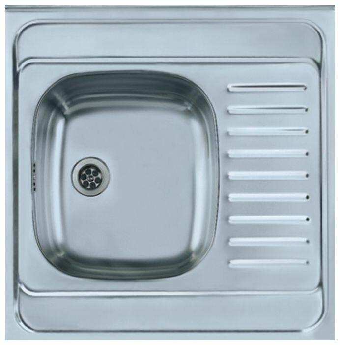Накладная кухонная мойка ALVEUS Classic 20 60х60см нержавеющая сталь