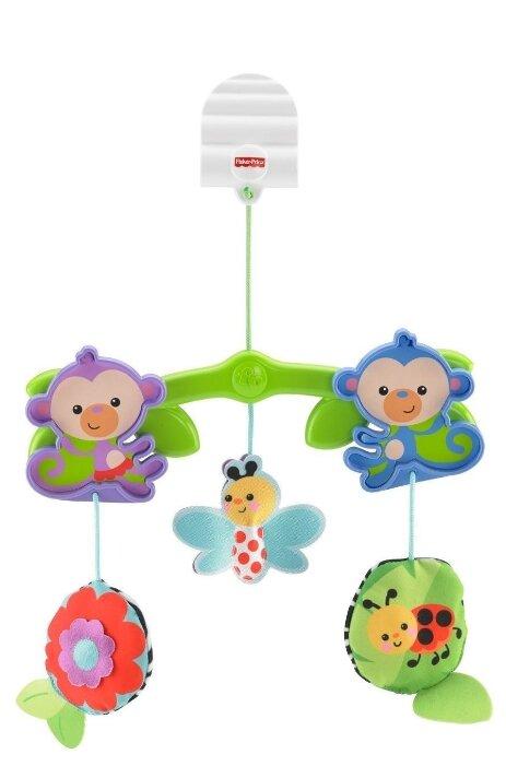 Подвесные игрушки на кроватку для новорожденных