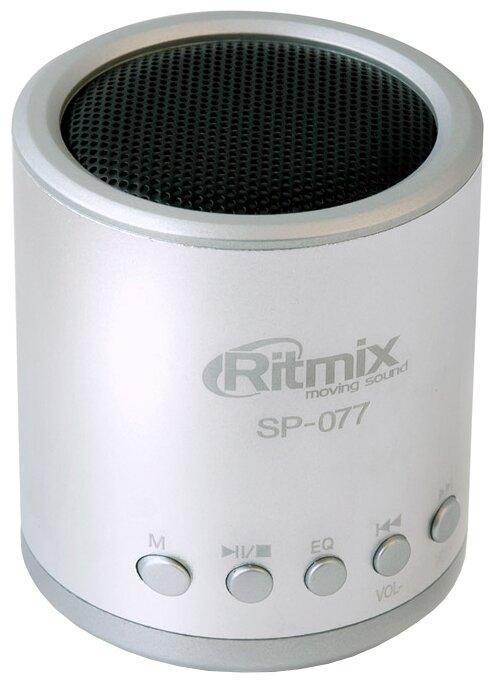 Ritmix SP-077, Black портативная акустическая система