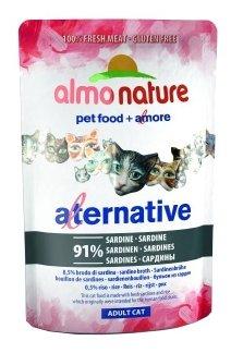 Корм для кошек Almo Nature Alternative Adult Cat Atlantic Tuna