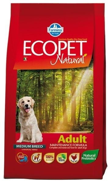 Корм для собак Farmina Ecopet 2.5 кг (для средних пород)