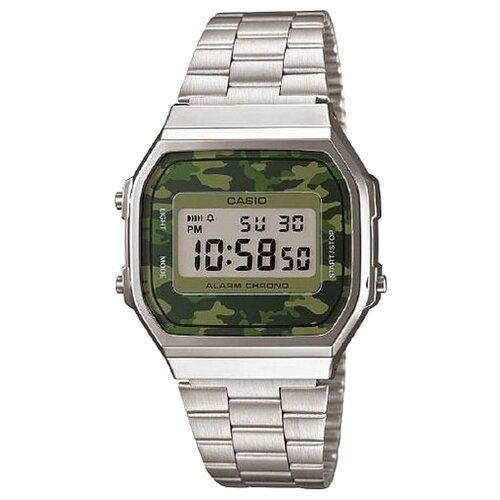 цена Наручные часы CASIO A-168WEC-3E онлайн в 2017 году