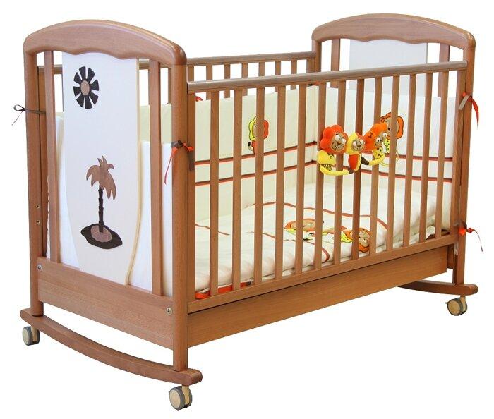 Кроватка Papaloni Vitalia (качалка)