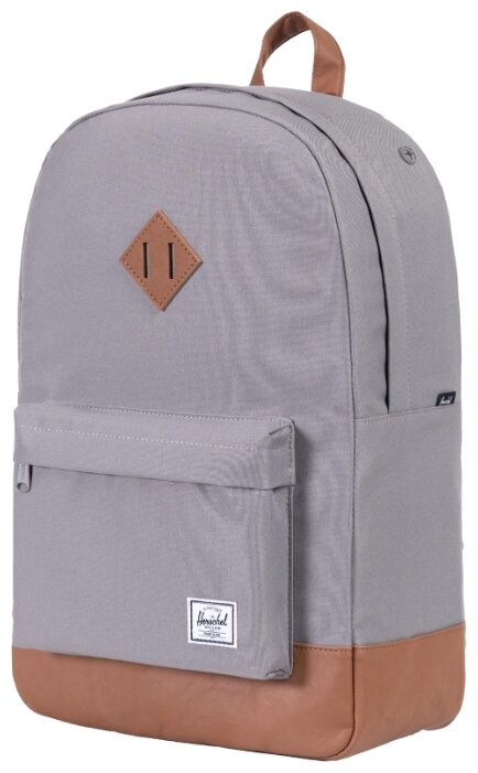 4f29af54f33 Рюкзак Herschel Heritage 21.5 grey (grey  tan synthetic leather)