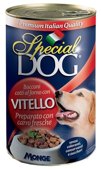 Корм для собак Special Dog Кусочки Телятины