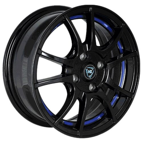 Фото - Колесный диск NZ Wheels F-43 6.5x16/5x114.3 D66.1 ET40 BKBSI колесный диск nz wheels f 42 6x15 4x100 d60 1 et40 bkbsi