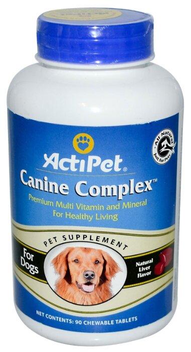Actipet Мультивитаминный комплекс для собак с печенью