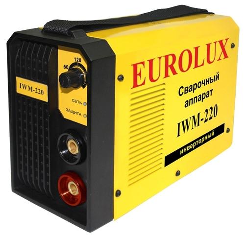 Сварочный аппарат eurolux iwm220 видео бензиновые генераторы переменного тока 220в