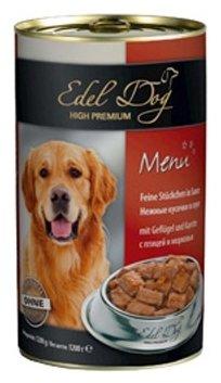 Корм для собак Edel Dog Птица и морковь