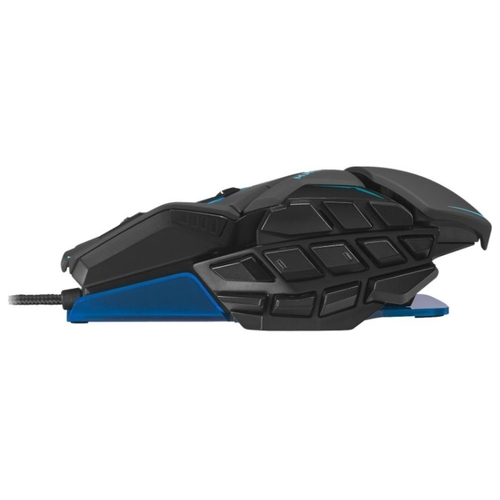Мышь Mad Catz M.M.O. TE Gaming Mouse Blue USB