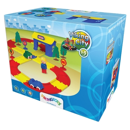 Трек Viking Toys Viking City 5585