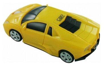 Мышь CBR MF 500 Bizzare Yellow USB