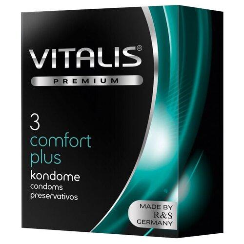 Презервативы VITALIS Comfort Plus (3 шт.)