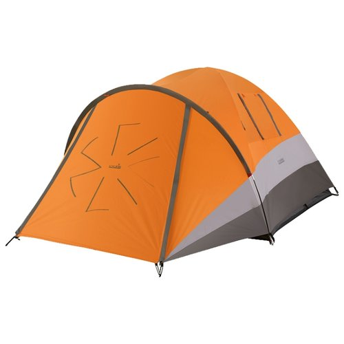 Палатка NORFIN Dellen 3 оранжевый/серый