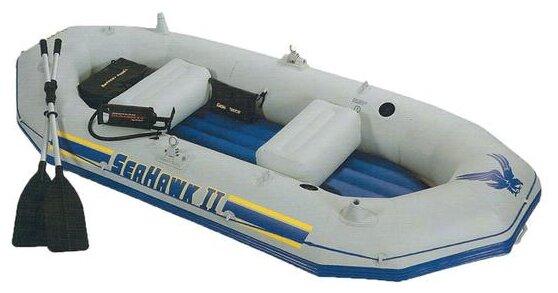 Надувная лодка Intex Seahawk-II Set (68377)