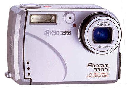 Фотоаппарат KYOCERA Finecam 3300