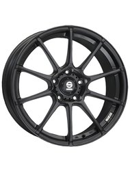 Колесный диск Sparco Wheels Assetto Gara 7.5x18/4x100 D63.3 ET35 Matt Black - фото 1