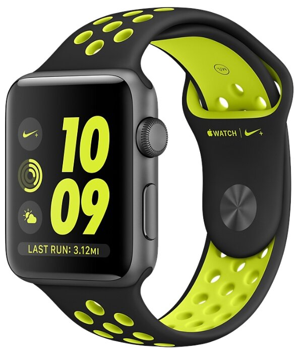 Часы Apple Watch Series 2 38mm with Nike Sport Band