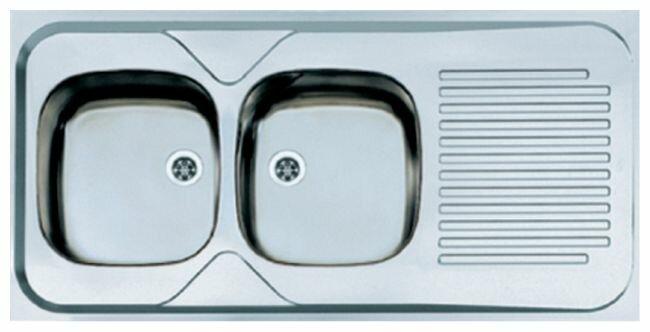 Накладная кухонная мойка ALVEUS Classic 100