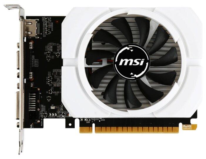 MSI Видеокарта MSI GeForce GT 710 954Mhz PCI-E 2.0 2048Mb 1600Mhz 64 bit DVI HDMI HDCP