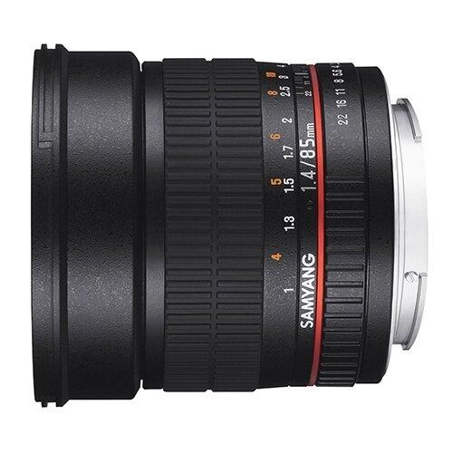 Фото - Объектив Samyang 85mm f/1.4 AS IF UMC Fujifilm X объектив samyang 85mm f 1 8 ed umc cs fujifilm x