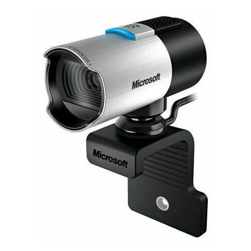 Веб-камера Microsoft LifeCam Studio серебристый