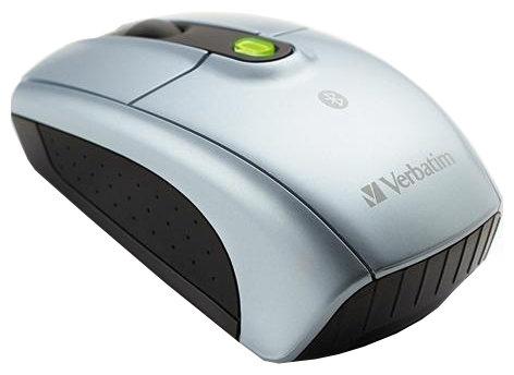Мышь Verbatim Wireless bluetooth notebook Silver-Black Bluetooth