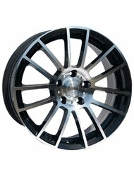 Racing Wheels H-408 6.5x15 5x114.3 ET 40 Dia 67.1 BK F/P - фото 1