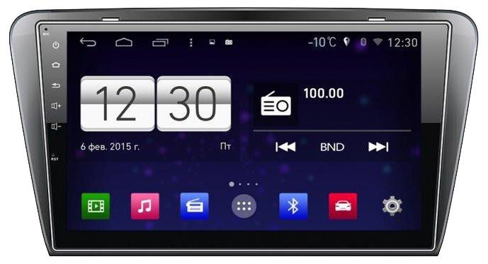 FarCar s160 Skoda Octavia A7 на Android (m483)