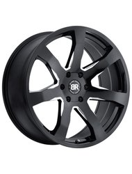 Диск Black Rhino Mozambique Gloss Black With Milled Spokes 8.5x20/5x150 D110.1 ET25 - фото 1