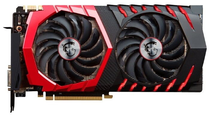 MSI GeForce GTX 1070 1607Mhz PCI-E 3.0 8192Mb 8108Mhz 256 bit DVI HDMI HDCP GAMING X