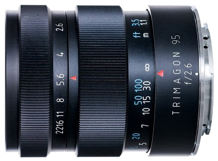 Объектив Meyer-Optik-Görlitz Trimagon 95mm f/2.6 Canon EF