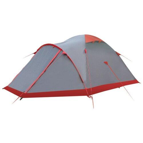 Палатка Tramp MOUNTAIN 2 V2 серый