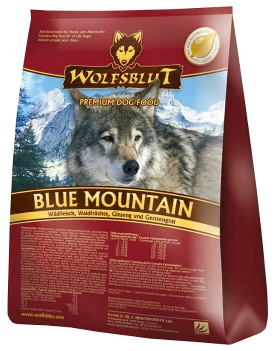 Корм для собак Wolfsblut Blue Mountain (15 кг)