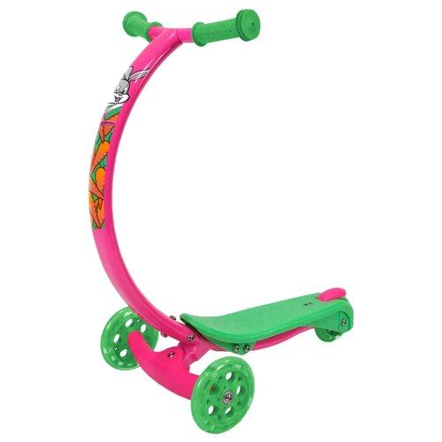 Кикборд Zycom Zipster розовый/зеленый