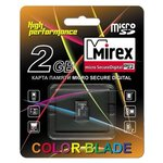 Карта памяти Mirex microSD