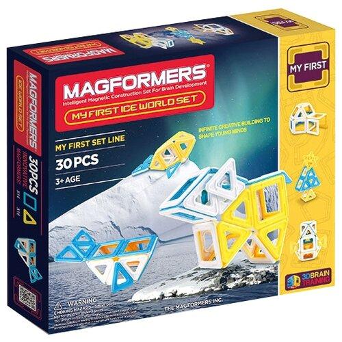 Фото - Конструктор Magformers My First 63136 Ледяной мир конструктор magformers my first 63144 желтый багги