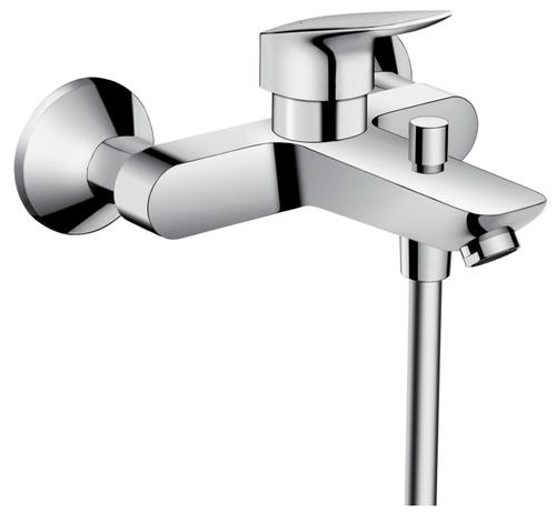 Стоит ли покупать Смеситель для ванны с подключением душа hansgrohe Logis 71400000 однорычажный? Отзывы на Яндекс.Маркете