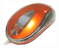 Мышь A4Tech BW-26 Orange USB+PS/2