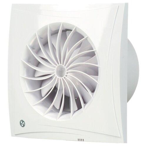 Вытяжной вентилятор Blauberg Sileo 100 H, белый 7.5 Вт